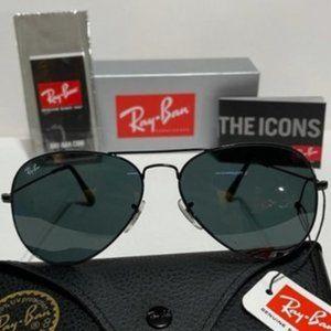 Ray-Ban Aviator Black Sunglasses RB3025